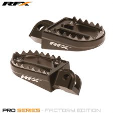 New RFX Shark Wide Foot Pegs KTM SX 125 SXF 250 350 450 2016 16 Footrests Grey